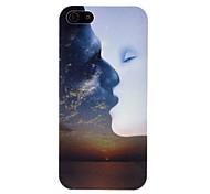 Trabalho Artístico de namorados se beijando Padrão Hard Case para iPhone 5/5S PC