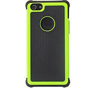 Caso Black Design grano duro 2-in-1 con silicone all'interno Cover per iPhone 5/5S