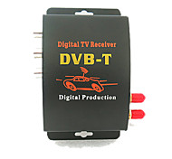 ED013-M629S DVB-T HD MPEG-4/MPEG-2 MOBILE CAR Receptor de TV Digital sintonizador duplo