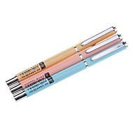 Candy Color Metal Fountain Pen (Random Color)