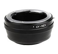 Contax Yashica CY EMOLUX lente para SONY NEX-7 NEX-5 NEX-3 NEX-VG10 Adaptador NEX5 NEX3