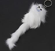 Poilu Fox style porte-clés sacs accessoires