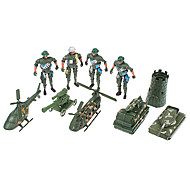Military Personnel & Military Equipment Models Toys