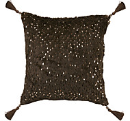 "18 ""Stylish Bling Paillette cuscino decorativo Con inserto"