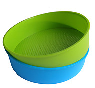 Cake Baking Pans, Round Silicone (Color Randoms)
