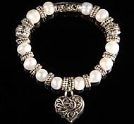 Women's Charm Bracelet Alloy Pearl
