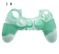 Camouflage Silicone Skin Case for PS4 Controller