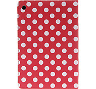 Round Dots Pattern Red Case for iPad mini 3, iPad mini 2, iPad mini