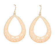 European Style Water-Drop Shape Drop Earrings
