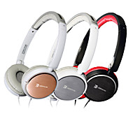 senic é-r19pro ouvido de 3,5 mm ao longo de ouvido estilo setal headphone dobrável para pc / iphone / ipod / ipad / samsung