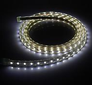 2M 20W 1400LM 6000K 5050SMD Cool White LED Light Strip (220V)