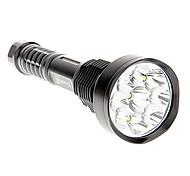 Torce LED 5 Modo 11000 Lumens 18650 / 26650 Cree XM-L T6 Batteria -Campeggio/Escursionismo/Speleologia / Uso quotidiano / Ciclismo /