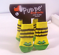 Socks & Boots for Dogs / Cats Yellow Winter S / M / L Cotton
