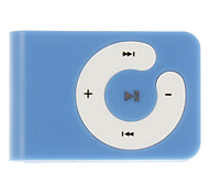 Stylish C Style Button MP3 Music Player with Clip