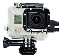 Gopro Accessories Protective Case For Gopro Hero 3 Snowmobiling / Ski/Snowboarding / Boating / Kayaking / Wakeboarding / Skate
