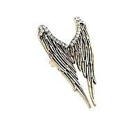 Европейские и американские торговые Ретро Трехмерный Angel Wings Diamond Ring
