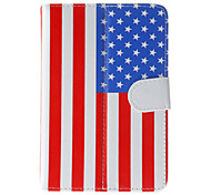 American Flag caso modello generale con la penna e Screen Protector per 7 'Google / Asus / Amazon Tablet