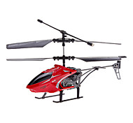 JJ 2.5 Channel MiniRemte Control Helicopter met Gyroscoop, LED Light en vervangbare Yellow Canopy