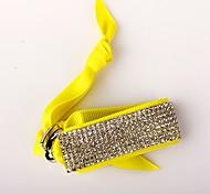 The Eight Rows Diamond Yellow Bracelet