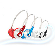 Sômica MH429 dobrável Neck-Band On-Ear Headphone com microfone e PC / iPhone / Samsung / HTC / iPad / remoto móvel