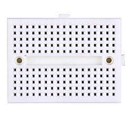 Mini 170 Tie Points Solderless Self-adhesive Prototype Breadboard - White