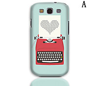 MR.BEAM Series Design Hard Case with 3-Pack Screen Protectors for Samsung Galaxy S3 I9300