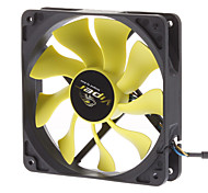 AK-FN059 12cm PWM Auto Speed Control S-FLOW IP54 Super Silent Fan for PC
