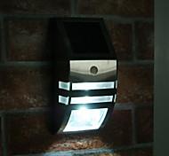 Luz Blanca LED Luz solar de pared de luz con sensor de movimiento PIR