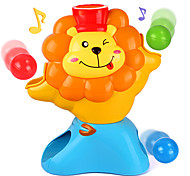 Plastic Ball-Throwing Musical Toy for Kids