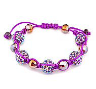 Fashion Beaded Bracelet(Random Color)