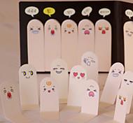 bonito 200 páginas dez dedos etiqueta marcador memorando notas pegajosas almofadas