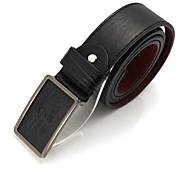 cinturones de la cintura de la correa de cuero de los hombres de negocios para hombre