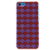 Special Fans Pattern Hard Case for iPhone 5C