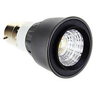 Lâmpada de Foco B22 5 W 250-300 LM 2700-3500 K Branco Quente 1 COB V