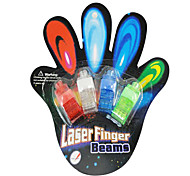 5pcs/lot,Color LED Bright Laser Finger Ring Toys