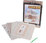 25 Pieces DIY Paper 3D Puzzle Parthenon Temple