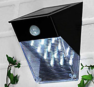Solar Power Motion Sensor PIR de montaje en pared Garden Path Yard Light puerta 12-LED
