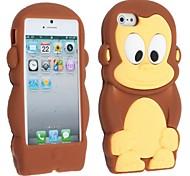 Mono Funda de silicona suave para el iPhone 5/5S