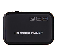 Mini 1080P Full Hd Media Player Hdmi/Usb/Sd/Yprpb/Av/Vga
