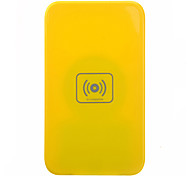 Qi Wireless Charger Yellow Pad ricarica con ricevitore blu per Samsung Galaxy Nota 2 N7100
