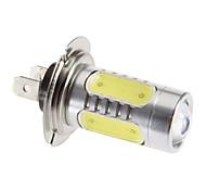 H7 11W 6000K Cool White Light LED Bulb for Car (12V)