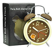 "6.29 ""H Muet Modern Style Metal Alarm Clock"