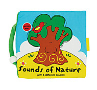 Sounds of Nature with 6 Different Sounds Pillow Toy