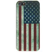 Retro American Flag PC Hard Back Cover For iPhone 7 7 Plus 6s 6 Plus SE 5s 5c 5 4s 4
