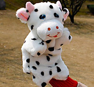 Novel Large-sized Cow Plush Finger Puppet