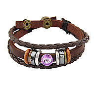 Unisex Leather Wrap Bracelets