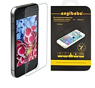 Angibabe 0.33mm Super Slim Russian Spanish Engish Version Tempered Glass Screen Protector for iPhone 5 / 5S