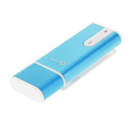 Co-crea 8GB USB com Clip MP3 Azul