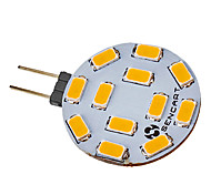 G4 4.5 W 12 SMD 5730 300-320 LM Warm White LED Spotlight V