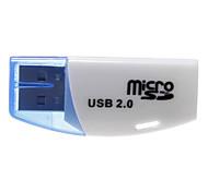 Mini universale Memory Card Reader (blu / giallo)